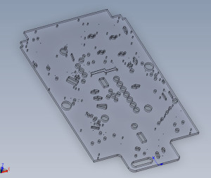 Main Playfield - Solidworks